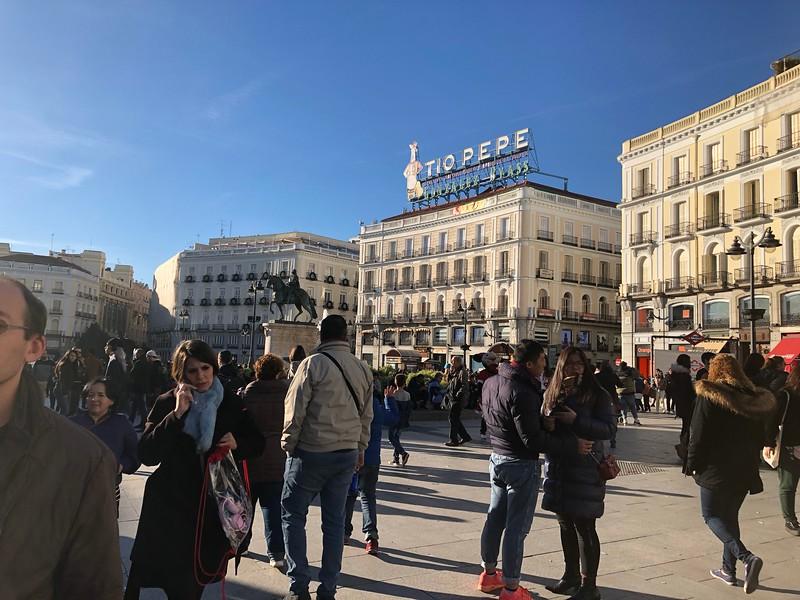 Plaza del Sol, Madrid