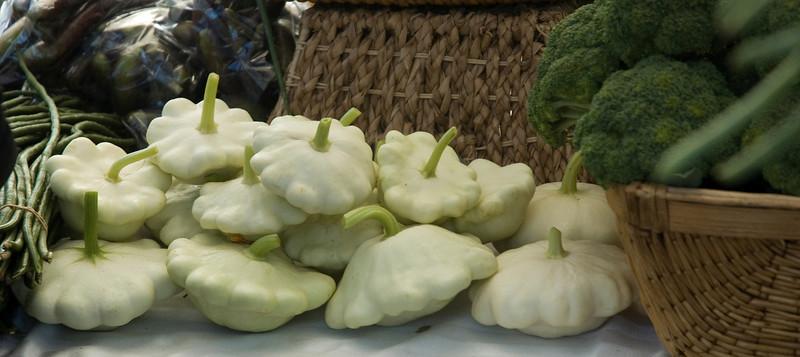 Squash, broccoli
