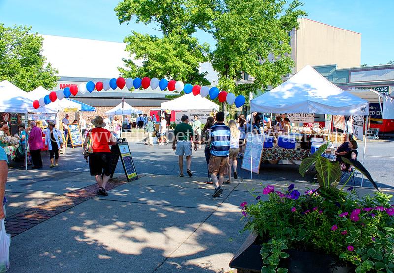 Easton Farmers Market, Easton, PA 7/6/2013