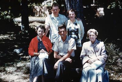 Erickson Family Gathering 1960s