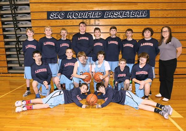 SLC BOYS MODIFIED BASKETBALL TEAM 2015-16