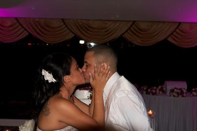 Cris & Manny's Wedding; 'The Kiss'