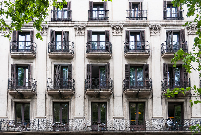 Barcelona: Private balconies