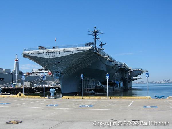 USS Hornet (CV-12) - Alameda, CA