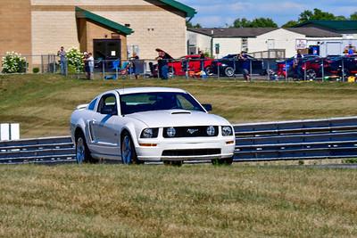 2020 SCCA TNiA Aug19 Pitt Int White Mustang