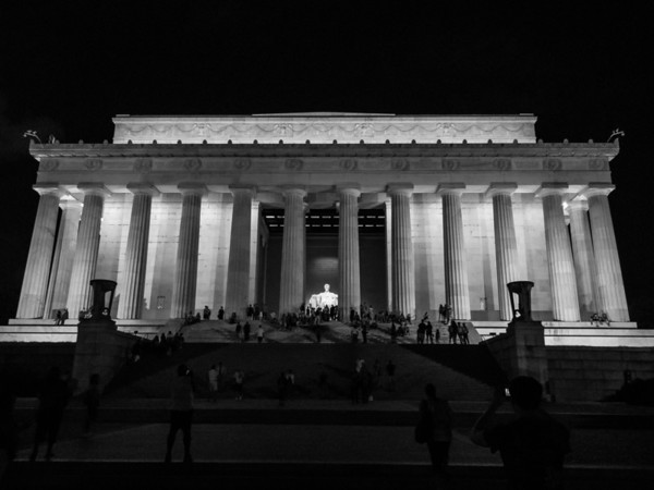 Londontown and DC at Night with the parents - July 2012