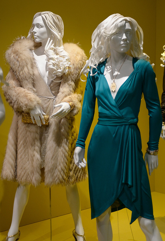 ". Costumes from ""American Hustle.\"" FIDM/Fashion Institute of Design & Merchandising is hosting the Art of Motion Picture Costume Design, which features 100 costumes from over 20 selected films, including Oscar nominated designs. Los Angeles, CA. February 09, 2014 (Photo by John McCoy / Los Angeles Daily News)"