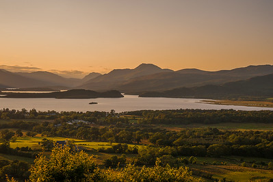 Sunset, Loch Lomond - 21/07/2014