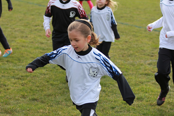 Maddis First Soccer Game