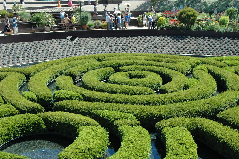 Park in Getty Center