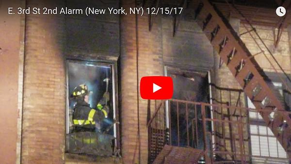 E. 3rd St. 2nd Alarm (New York, NY)