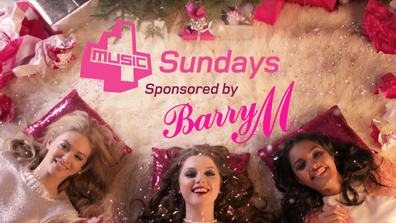 4Music TV Sponsorship Bumpers for BarryM Cosmetics.  Broadcast before and after every commercial break on 4Music Sundays.