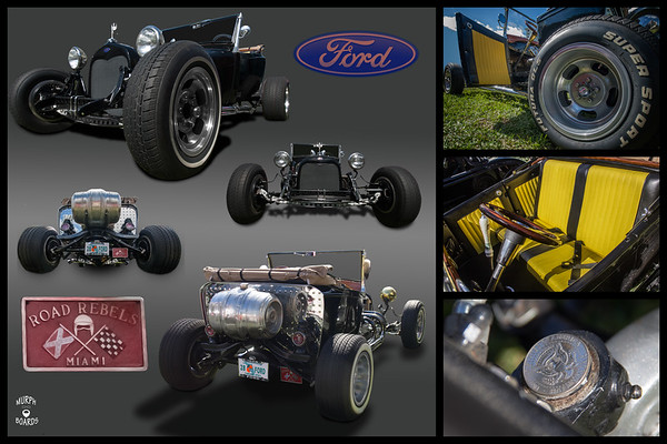 1928 Ford Roadster Black Dana Barlow