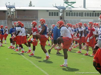 Florida Football Practice 08-02-2013
