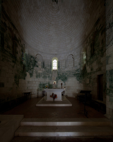 Bourg Charente, Saints Stephen and John the Baptist Church Apse