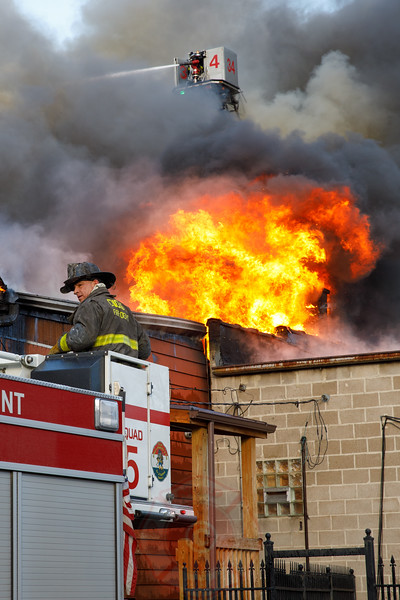 2-11 Alarm of Fire 8820 S. Commercial February 2019
