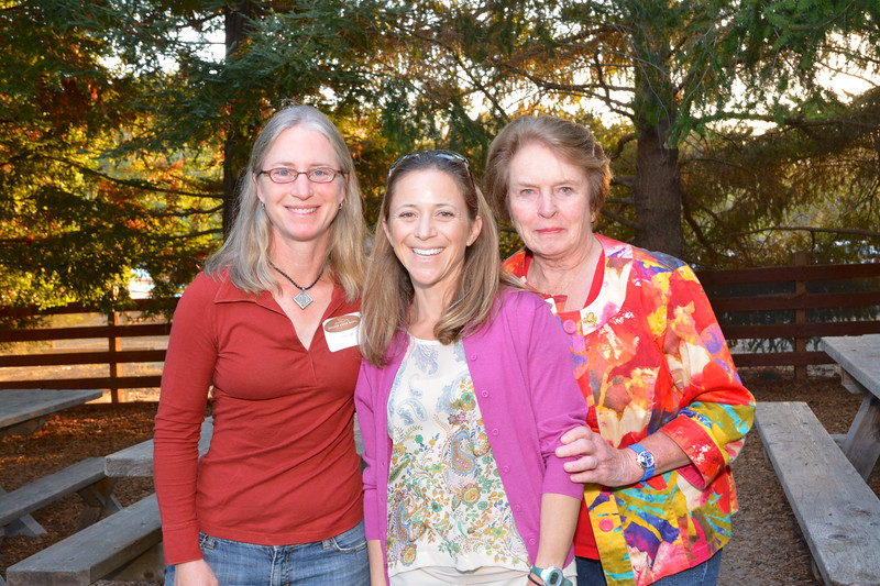 Abby Hill, Sara Brown and Diana Dohghterty