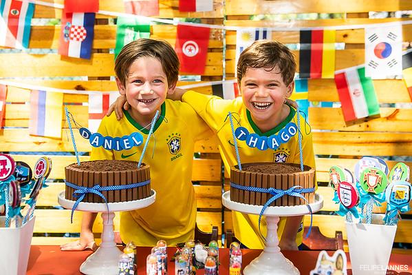 Daniel e Thiago - 05 anos