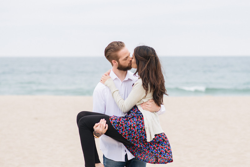 Jason and Hafsa Manhattan Beach engagement