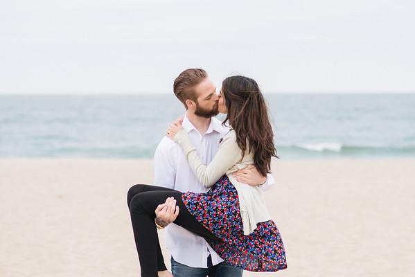 Jason and Hafsa Manhattan Beach engagement