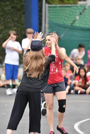 20150610 Sixth Grade vs. Faculty Volleyball