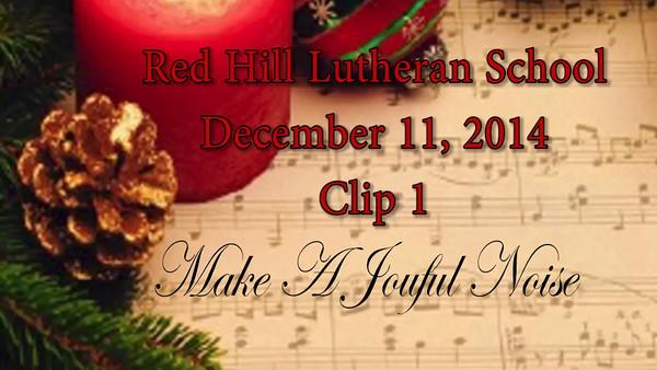 2014-12-11 RHLS Middle School Christmas Program