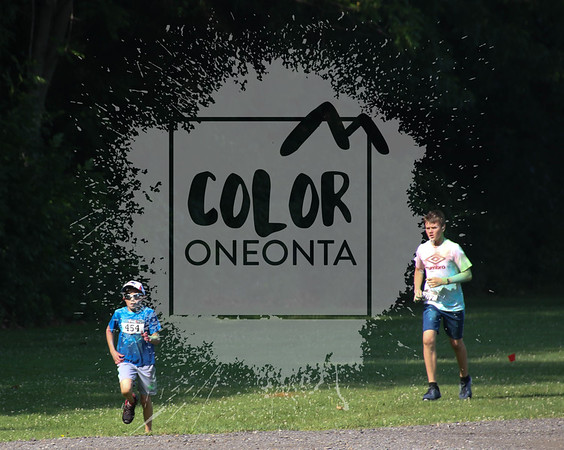 Color Oneonta 2018 - Parking Lot by Memorial Walk