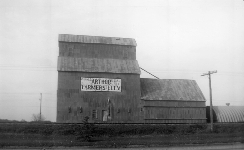 ARE029.  Arthur Farmers Elevator – reprint done Nov 1973 - n.jpg