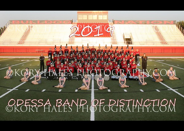 2019 OHS Band of Distinction