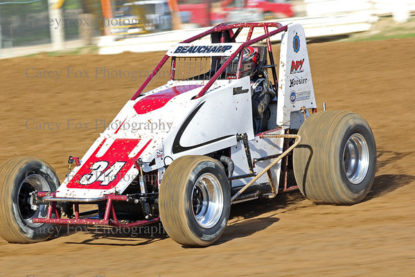 May 10, 2014 - Sprints and Modifieds
