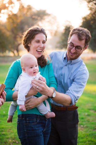 James Oswald's Baby Dedication