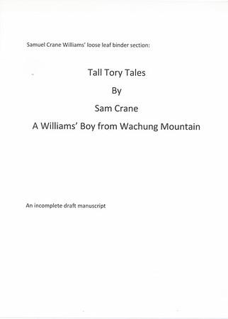 Tall Tory Tales