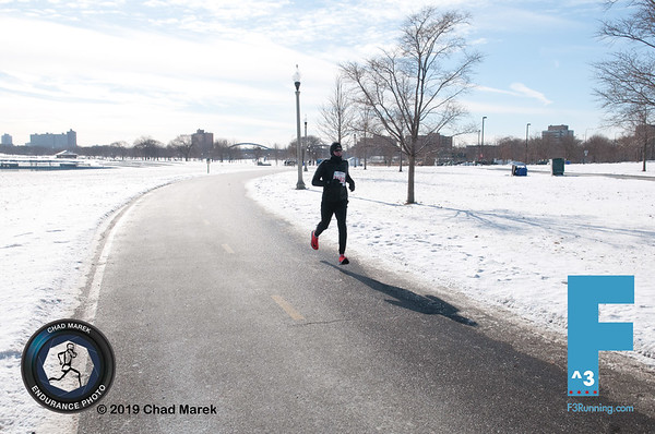 2019 F3 Lake Half Marathon - 1/26/2019 - North Bound