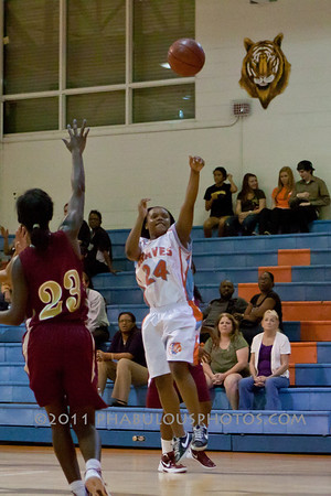 Wekiva @ Boone Girls JV Basketball - 2011