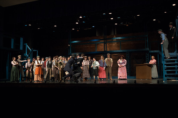 Act 2  Newsies Square Finale