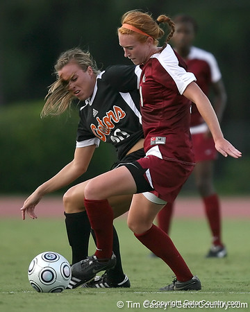 Photo Gallery: UF Soccer vs. FSU, 9/18/09
