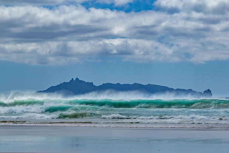 Blick auf Taranga Island