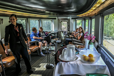 Vancouver to Jasper by Train 2014