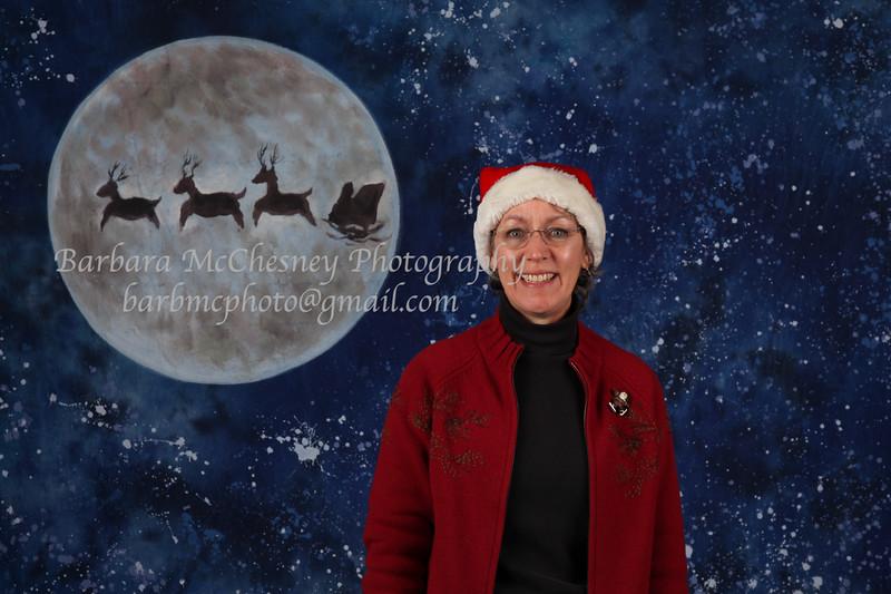 Santa visits WCE 2011