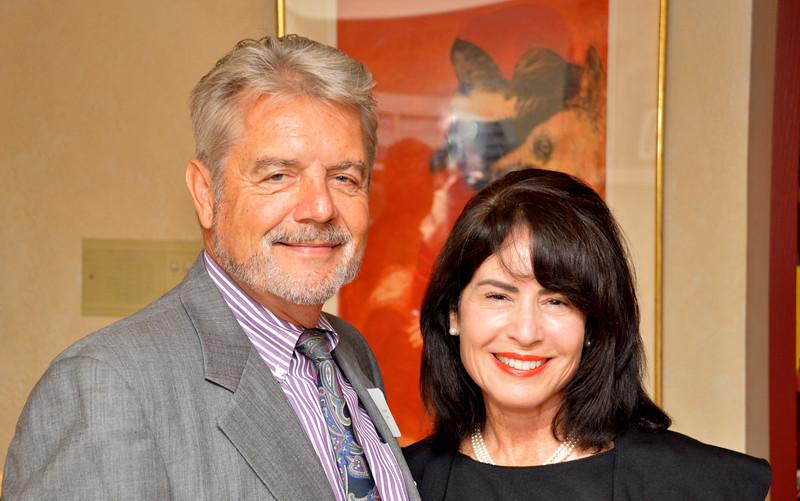 Howie Jones with Beth Harding