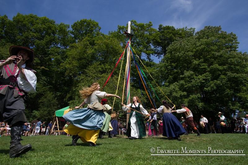 Maypole at the NY Renaissance Faire