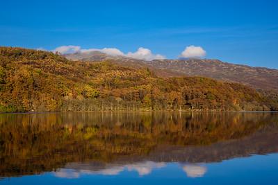 Autumn at Loch Achray