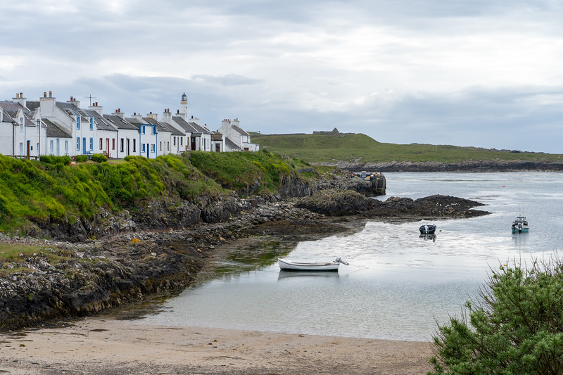 Portnahaven harbor on Islay