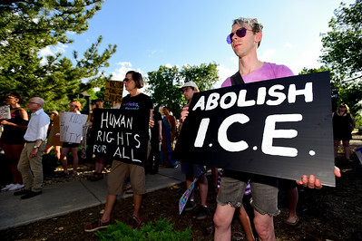 Photos: Protest Against ICE and BI Geo Group Company in Boulder