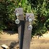 2.00-2.50ctw (est) Georgian Collet Double Drop Earrings 11