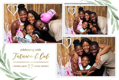 Tutuwa and Cal's Wedding