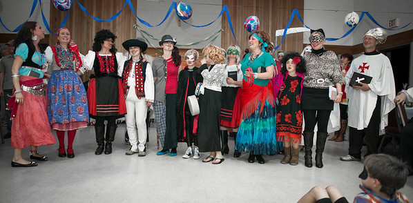 Masopust - Šibřinky - Fašiangy - Mardi Gras party 2014