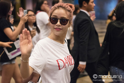 050817 Mamamoo Departing Singapore