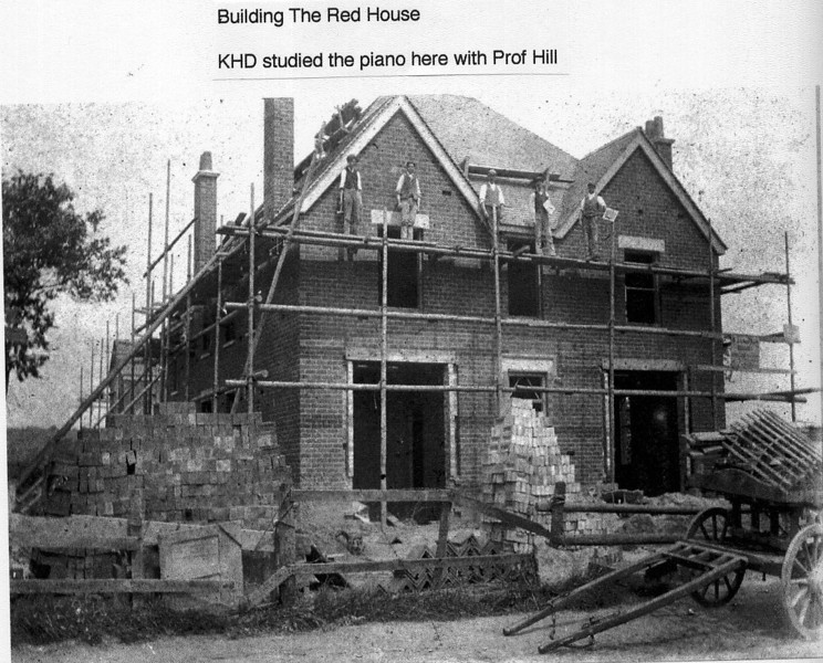 Building of Red House Provided by Elizabeth Smith