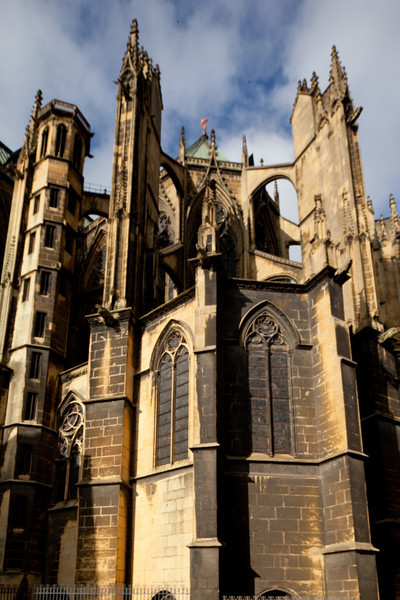Metz Cathedral of Saint Stephen Chevet Flying Buttresses